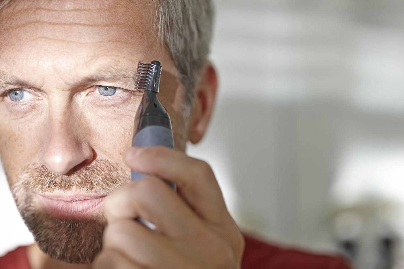 Augenbrauen Trimmer Test - Nasenhaartrimmer Test
